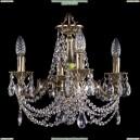 1702/4/CK125IV/C/GB Хрустальная подвесная люстра Bohemia Ivele Crystal (Богемия)