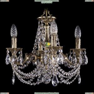 1707/4/125/C/GB Хрустальная подвесная люстра Bohemia Ivele Crystal (Богемия)