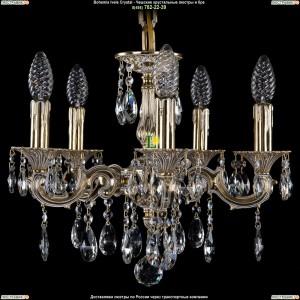 1707/5/125/A/GW Хрустальная подвесная люстра Bohemia Ivele Crystal (Богемия)