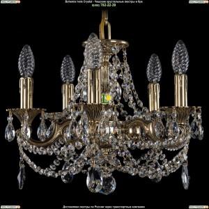1707/5/125/C/GB Хрустальная подвесная люстра Bohemia Ivele Crystal (Богемия)