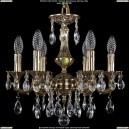 1702/6/CK125IV/A/GB Хрустальная подвесная люстра Bohemia Ivele Crystal (Богемия)