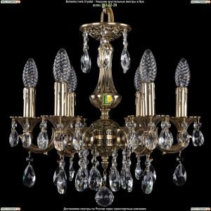 1707/6/125/A/GB Хрустальная подвесная люстра Bohemia Ivele Crystal (Богемия)