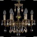 1707/6/125/A/GB/701 Хрустальная подвесная люстра Bohemia Ivele Crystal (Богемия)