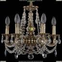 1707/6/125/C/GB Хрустальная подвесная люстра Bohemia Ivele Crystal (Богемия)