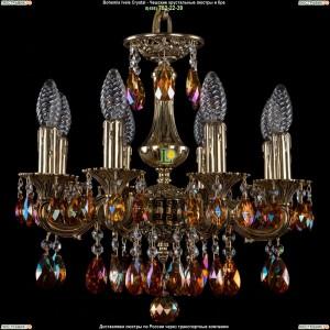 1707/8/125/A/GB/711 Хрустальная подвесная люстра Bohemia Ivele Crystal (Богемия)