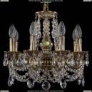 1702/8/CK125IV/C/GB Хрустальная подвесная люстра Bohemia Ivele Crystal (Богемия)