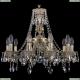 1771/10/190/A/GW Хрустальная подвесная люстра Bohemia Ivele Crystal (Богемия)