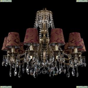 1771/10/220/A/GB/SH27 Хрустальная подвесная люстра Bohemia Ivele Crystal (Богемия)
