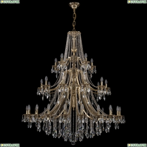 1771/20+10+5/490/B/GB Хрустальная подвесная люстра Bohemia Ivele Crystal (Богемия)
