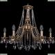 1771/6/220/A/FP Хрустальная подвесная люстра Bohemia Ivele Crystal (Богемия)