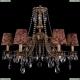 1771/6/220/A/FP/SH27 Хрустальная подвесная люстра Bohemia Ivele Crystal (Богемия)
