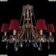 1771/6/220/A/FP/SH8 Хрустальная подвесная люстра Bohemia Ivele Crystal (Богемия)