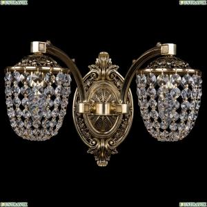 1772/2/150/GB Хрустальное бра Bohemia Ivele Crystal (Богемия)