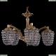 1772/5/150/FP Хрустальная подвесная люстра Bohemia Ivele Crystal (Богемия)