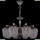 1772/8/150/NB Хрустальная подвесная люстра Bohemia Ivele Crystal (Богемия)