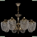 1772/8/220/GB Хрустальная подвесная люстра Bohemia Ivele Crystal (Богемия)
