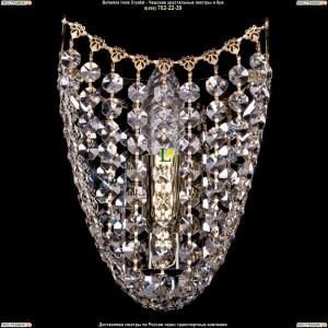 7708/1/S/GD хрустальную бра Bohemia Ivele Crystal (Богемия)
