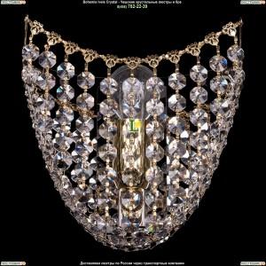 7708/1/W/GD хрустальную бра Bohemia Ivele Crystal (Богемия)