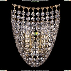 7708/2/S/GD хрустальную бра Bohemia Ivele Crystal (Богемия)