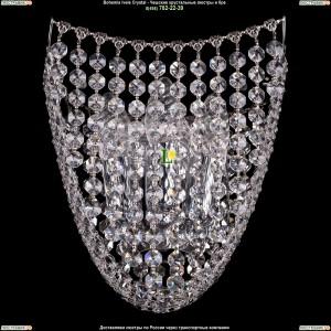 7708/3/S/Ni хрустальную бра Bohemia Ivele Crystal (Богемия)