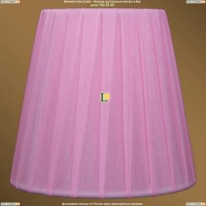 SH-1 Абажур Розовый Bohemia Ivele Crystal (Богемия)