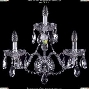 1400/3/195/Ni/Big Бра Bohemia Ivele Crystal (Богемия)