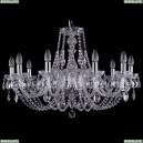 1406/10/300/Ni Хрустальная подвесная люстра Bohemia Ivele Crystal (Богемия)