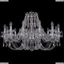 1406/12/300/Ni Хрустальная подвесная люстра Bohemia Ivele Crystal (Богемия)