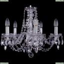 1406/5/160/Ni Хрустальная подвесная люстра Bohemia Ivele Crystal (Богемия)