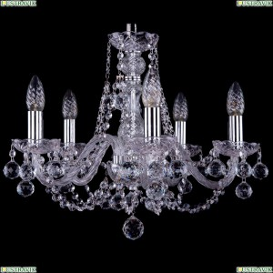 1406/5/160/Ni/Balls Хрустальная подвесная люстра Bohemia Ivele Crystal (Богемия)