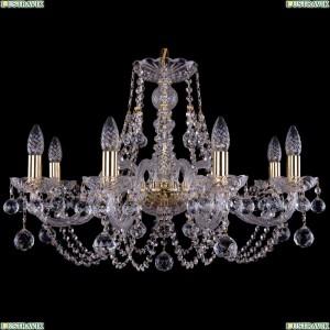 1406/8/240/G/Balls Хрустальная подвесная люстра Bohemia Ivele Crystal (Богемия)