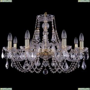 1406/8/240/G/Leafs Хрустальная подвесная люстра Bohemia Ivele Crystal (Богемия)