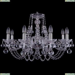 1406/8/240/Ni/Balls Хрустальная подвесная люстра Bohemia Ivele Crystal (Богемия)