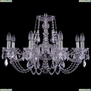 1406/8/240/Ni/Leafs Хрустальная подвесная люстра Bohemia Ivele Crystal (Богемия)