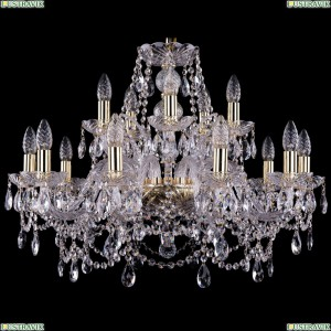 1411/10+5/240/G Хрустальная подвесная люстра Bohemia Ivele Crystal (Богемия)