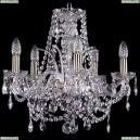 1411/5/160/Pa Хрустальная подвесная люстра Bohemia Ivele Crystal (Богемия)