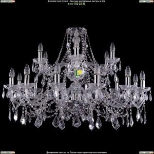 1413/12+6/360-68/Ni/Leafs Люстра Bohemia Ivele Crystal (Богемия)
