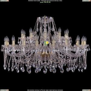 1413/20+10/400-76/G Люстра Большая Bohemia Ivele Crystal (Богемия)