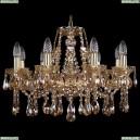 1413/8/200/G/M721 Хрустальная подвесная люстра Bohemia Ivele Crystal (Богемия)