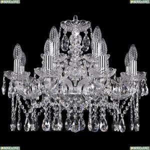 1413/8+4/200/Ni Хрустальная подвесная люстра Bohemia Ivele Crystal (Богемия)