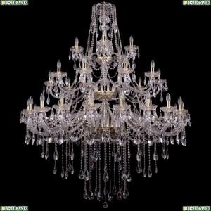 1415/20+10+5/530-180/G Большая хрустальная подвесная люстра Bohemia Ivele Crystal (Богемия)