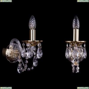 1600/1/G Хрустальное бра Bohemia Ivele Crystal (Богемия)