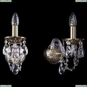 1600/1/GB Хрустальное бра Bohemia Ivele Crystal (Богемия)