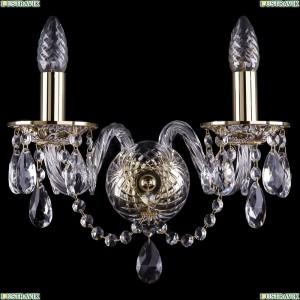 1600/2/GW Хрустальное бра Bohemia Ivele Crystal (Богемия)