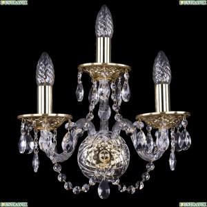 1600/3/G Хрустальное бра Bohemia Ivele Crystal (Богемия)