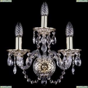 1600/3/GW Хрустальное бра Bohemia Ivele Crystal (Богемия)