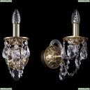 1610/1/G Хрустальное бра Bohemia Ivele Crystal (Богемия)