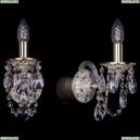 1610/1/GW Хрустальное бра Bohemia Ivele Crystal (Богемия)