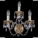 1610/3/G Хрустальное бра Bohemia Ivele Crystal (Богемия)