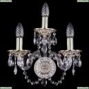 1610/3/GW Хрустальное бра Bohemia Ivele Crystal (Богемия)